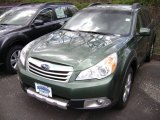 2012 Cypress Green Pearl Subaru Outback 3.6R Limited #63913646