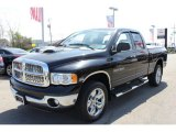 2004 Black Dodge Ram 1500 SLT Quad Cab 4x4 #63914360