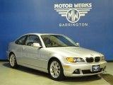 2004 Titanium Silver Metallic BMW 3 Series 330i Coupe #63913634