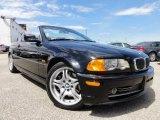 2001 Jet Black BMW 3 Series 330i Convertible #63913629