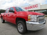 2012 Victory Red Chevrolet Silverado 1500 LT Crew Cab #63914005