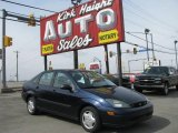 2003 Twilight Blue Metallic Ford Focus LX Sedan #6379371