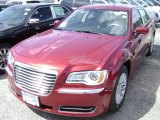 2012 Deep Cherry Red Crystal Pearl Chrysler 300  #63913602