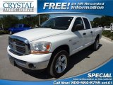 2006 Bright White Dodge Ram 1500 SLT Quad Cab 4x4 #63914312