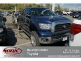 2007 Blue Streak Metallic Toyota Tundra SR5 TRD Double Cab 4x4 #63913586