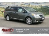 2012 Cypress Green Pearl Toyota Sienna Limited AWD #63913574