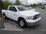 2011 Bright White Dodge Ram 1500 SLT Quad Cab 4x4 #63914285