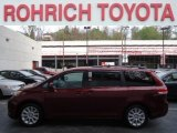 2011 Salsa Red Pearl Toyota Sienna LE AWD #63978549