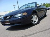 2003 True Blue Metallic Ford Mustang V6 Convertible #63977951