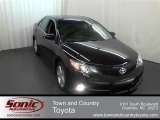 2012 Attitude Black Metallic Toyota Camry SE #63978241