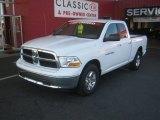 2011 Bright White Dodge Ram 1500 SLT Quad Cab 4x4 #63978159