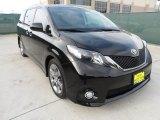 2011 Black Toyota Sienna SE #63978104