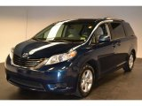 2011 South Pacific Blue Pearl Toyota Sienna LE #63978414