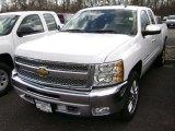 2012 Summit White Chevrolet Silverado 1500 LT Extended Cab 4x4 #63977735