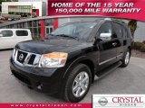 2012 Galaxy Black Nissan Armada Platinum #63978343