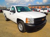 2012 Summit White Chevrolet Silverado 1500 Work Truck Regular Cab #63978342