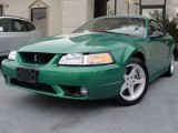 1999 Ford Mustang Electric Green Metallic