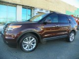 2012 Cinnamon Metallic Ford Explorer Limited 4WD #63978045