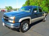 2006 Blue Granite Metallic Chevrolet Silverado 1500 LT Extended Cab 4x4 #63978328