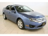 2010 Sport Blue Metallic Ford Fusion SE V6 #63978296
