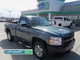 2008 Blue Granite Metallic Chevrolet Silverado 1500 Work Truck Regular Cab #63978264