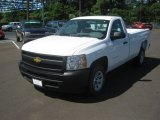 2012 Summit White Chevrolet Silverado 1500 Work Truck Regular Cab #64034921