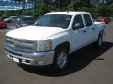 2012 Summit White Chevrolet Silverado 1500 LT Crew Cab 4x4 #64034917