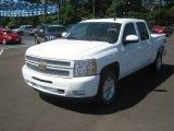 2012 Summit White Chevrolet Silverado 1500 LT Crew Cab 4x4 #64034916