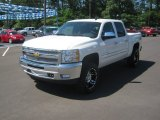 2012 White Diamond Tricoat Chevrolet Silverado 1500 LT Crew Cab 4x4 #64034915