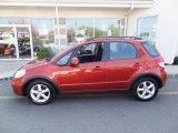 2009 Suzuki SX4 Cherry Red Metallic