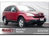 2008 Tango Red Pearl Honda CR-V LX #64034530