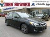 2012 Obsidian Black Pearl Subaru Impreza 2.0i Sport Premium 5 Door #64034885