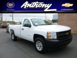 2012 Summit White Chevrolet Silverado 1500 Work Truck Regular Cab 4x4 #64035226
