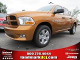 2012 Tequila Sunrise Pearl Dodge Ram 1500 Express Crew Cab #64034509