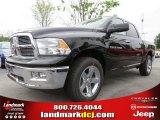 2012 Black Dodge Ram 1500 Big Horn Crew Cab #64034507