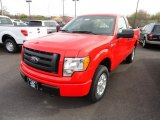 2012 Ford F150 STX Regular Cab 4x4 Data, Info and Specs