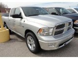 2012 Bright Silver Metallic Dodge Ram 1500 SLT Quad Cab 4x4 #64034825