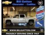 2011 White Diamond Tricoat Chevrolet Silverado 1500 LTZ Crew Cab 4x4 #64035183