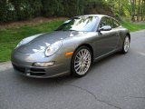 2008 Meteor Grey Metallic Porsche 911 Carrera S Coupe #64034403