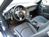 2008 Porsche 911 Carrera S Coupe Black Interior