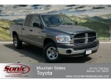 2008 Mineral Gray Metallic Dodge Ram 1500 SXT Quad Cab 4x4 #64034308