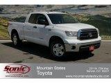 2010 Super White Toyota Tundra Double Cab 4x4 #64034290