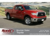 2012 Barcelona Red Metallic Toyota Tundra Double Cab 4x4 #64034280