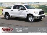 2012 Super White Toyota Tundra CrewMax 4x4 #64034277