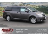 2012 Predawn Gray Mica Toyota Sienna Limited #64034262