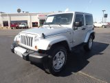 2012 Bright Silver Metallic Jeep Wrangler Sahara 4x4 #64034672