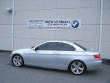 2008 Titanium Silver Metallic BMW 3 Series 335i Convertible #64034663