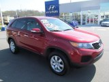 2011 Spicy Red Kia Sorento LX AWD #64034237