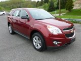 2010 Cardinal Red Metallic Chevrolet Equinox LS AWD #64034956