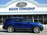 2013 Deep Impact Blue Metallic Ford Explorer Limited 4WD #64034585